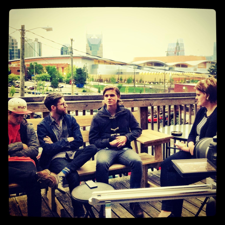 CALEB the band (l-r Will Chapman, Scott Mils, Caleb Chapman)
