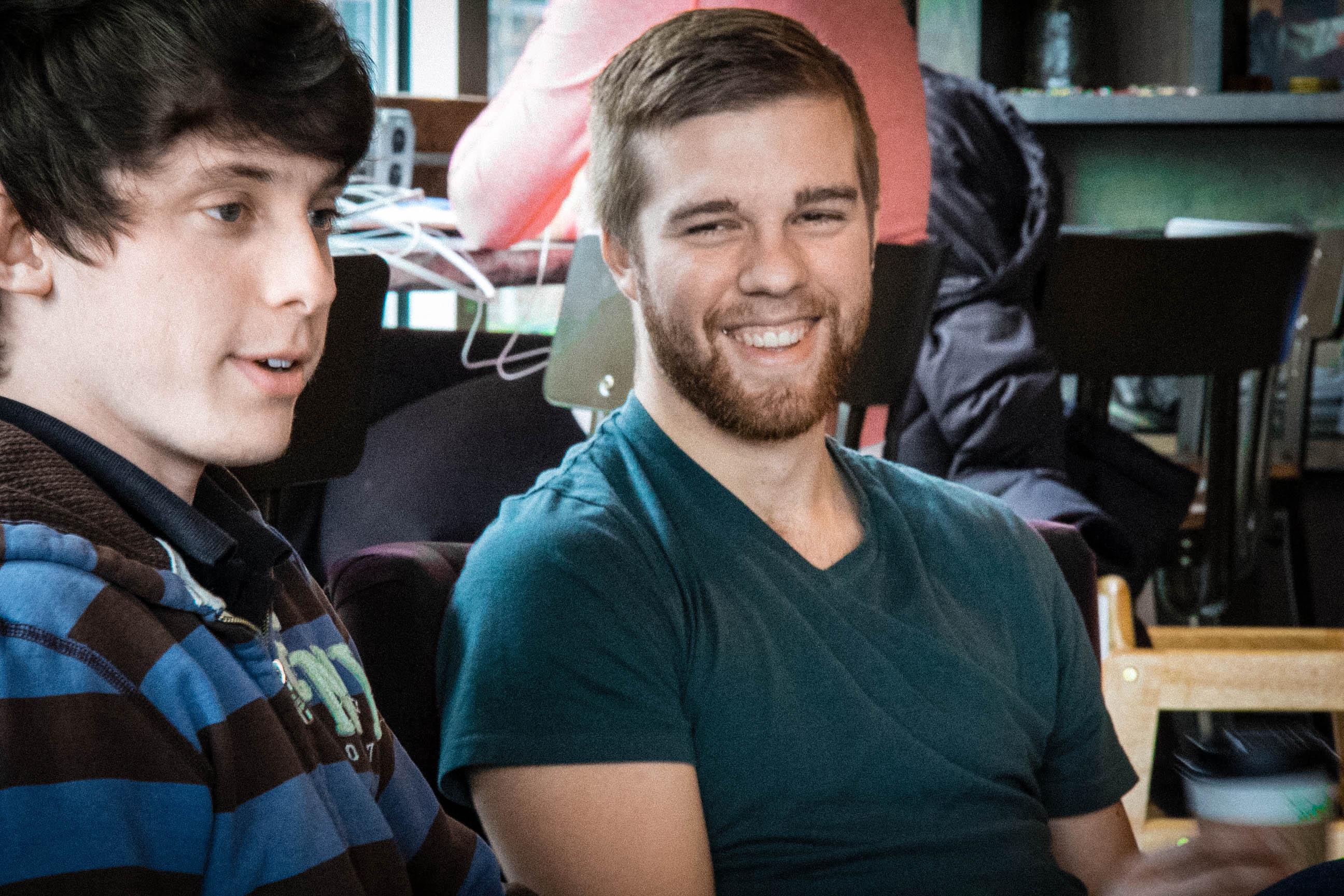 Dan and Justin