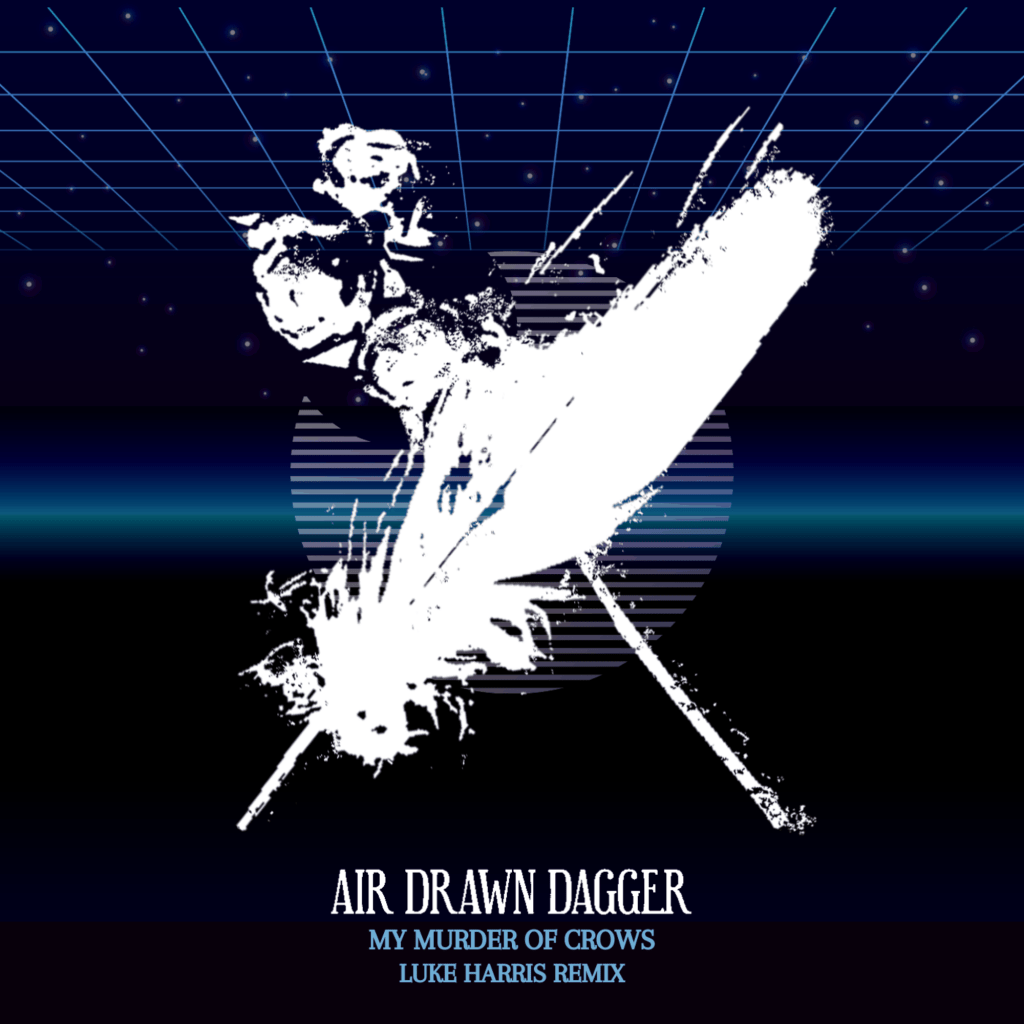 Air Drawn Dagger My Murder of Crows Remix Album Art