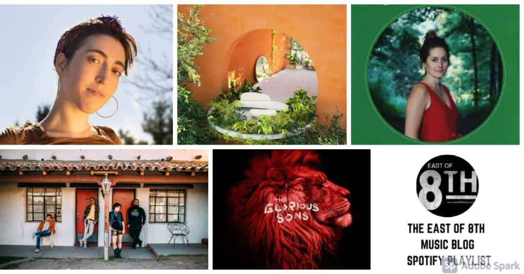 East of 8th Spotify Playlist Update June 11, 2021 Collage of artists
